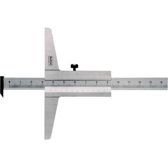 VERNIER DEPTH GAUGE 0-300mm WITH HOOK