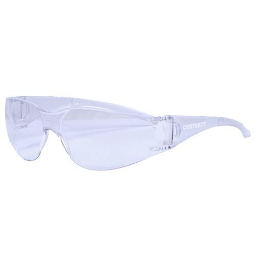 SAFETY GLASSES CONTRACT CLEAR