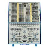 TAP & DIE SET METRIC 110pc SKC