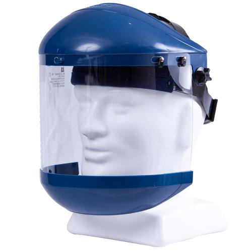 FACE SHIELD WITH CHIN GUARD CLEAR