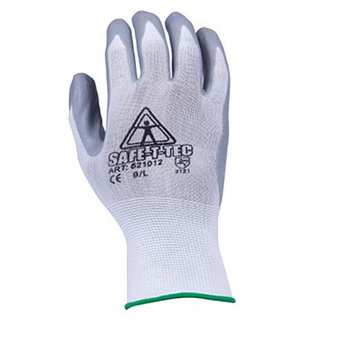 GLOVES NITRILE DIPPED X-LARGE SAFE-T-TEC