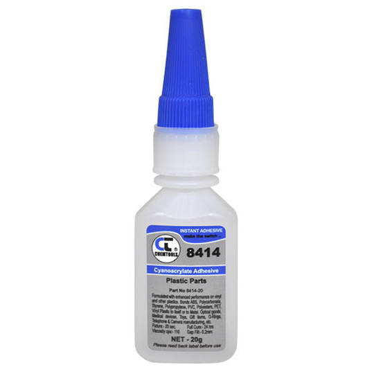 INSTANT GLUE 8414 20ml PLASTICS