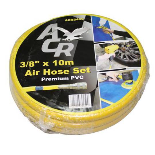 AIR HOSE 10mm x 20M WITH COUPLINGS