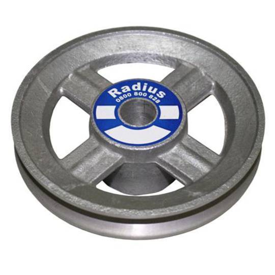 ALUMINIUM PULLEY 3.1/2 OD x 5/8 Bore