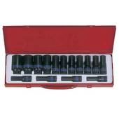 SOCKET SET IMPACT DEEP 1/2 15pc KING TON