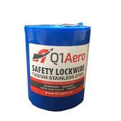 LOCK WIRE 1.04mm 0.041 1lb S/STEEL