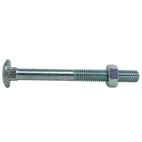 COACH BOLT & NUT M6 x 20 ZINC