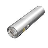 TORCH LED 165 LUMEN RECHARGE S/S P60 POP