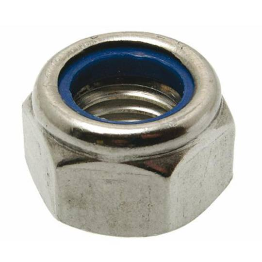 NYLOC NUT 7/16 UNC 316 STAINLESS STEEL
