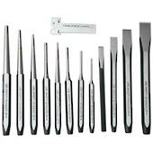 PUNCH & CHISEL SET 12pc AMPRO