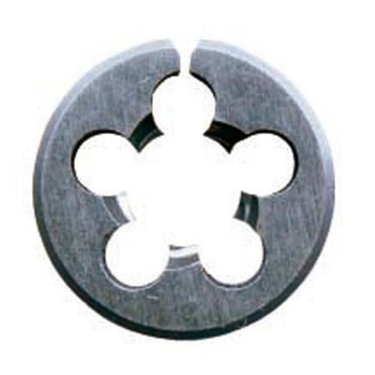 "DIE BUTTON 7/16"" UNC 1"" OD CARBON STEEL"