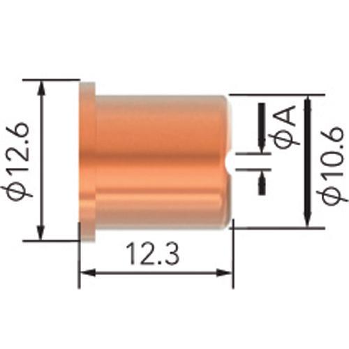 PLASMA TIP 50A CEBORA 35HF-P50/P70 5pk