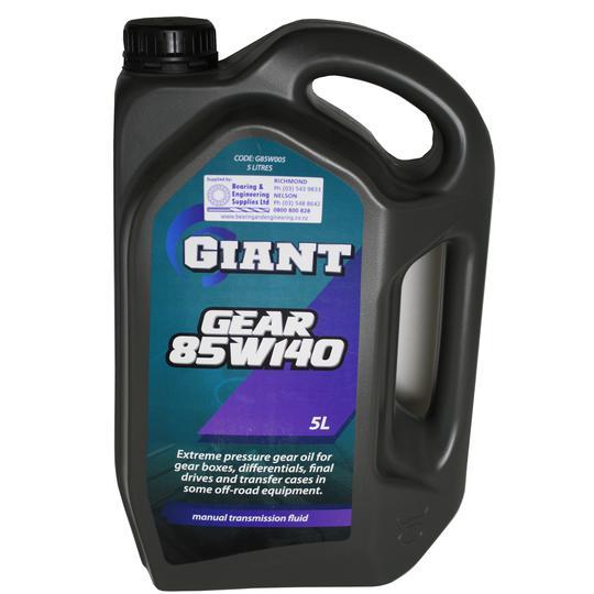 GIANT OIL GEAR 85W140 5L