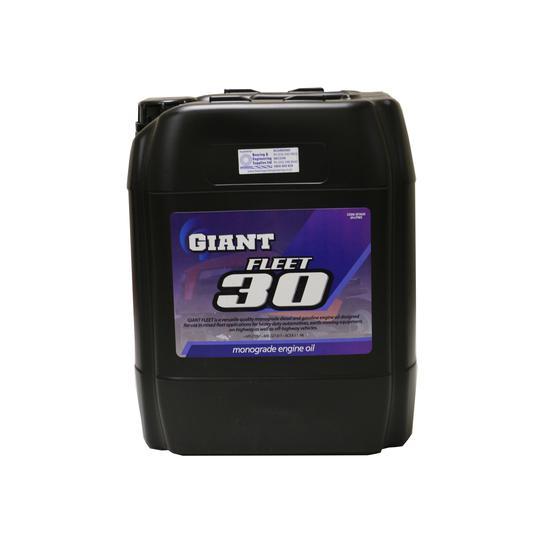 GIANT OIL FLEET 30 SAE30 20L