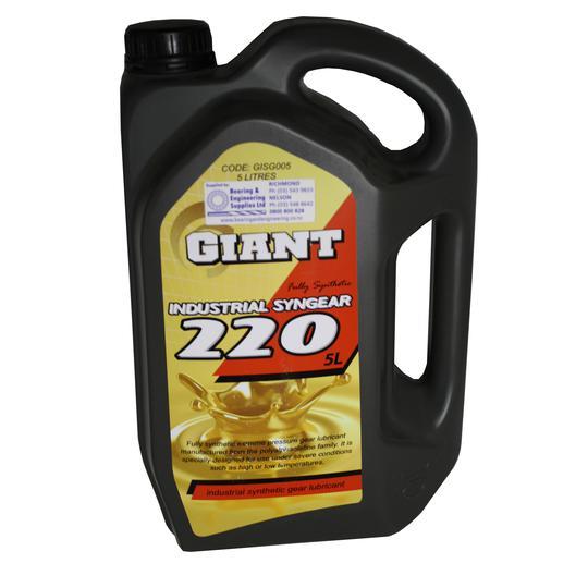 GIANT OIL SYN INDUST GEAR 220 5L
