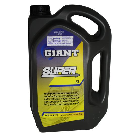 GIANT OIL SUPER 20W50 SG/CF 5L