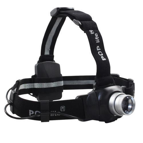 HEADLIGHT LED 160 LUMEN FOCUS/DIM H3 POP