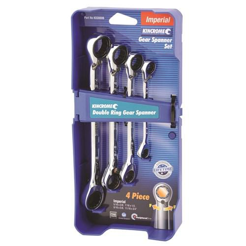 WRENCH RATCHET SET REV 4pc AF KINCROME