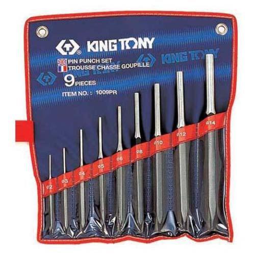 PUNCH SET PIN 9pc KING TONY