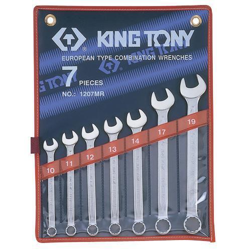 WRENCH R&OE SET 10-19mm  7pc KING TONY