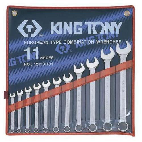 WRENCH R&OE SET 1/4-15/16 11pc KING TONY