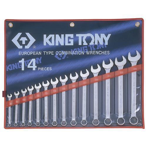 "WRENCH R&OE SET 5/16-1.1/4"" 14pc KING TONY"