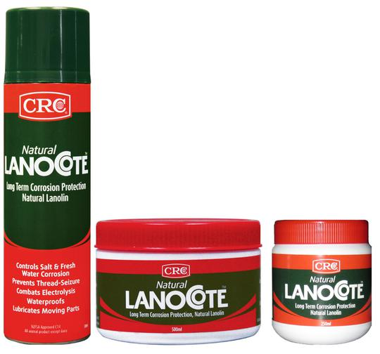 CRC ANTI SEIZE - LANOCOTE NATURAL - TUB 250ml