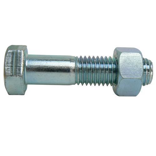 BOLT & NUT M16 x 160 ZINC 8.8G