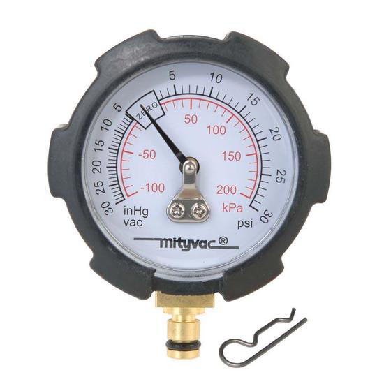 GAUGE PRES/VAC REPLACEMENT FOR MITYVAC
