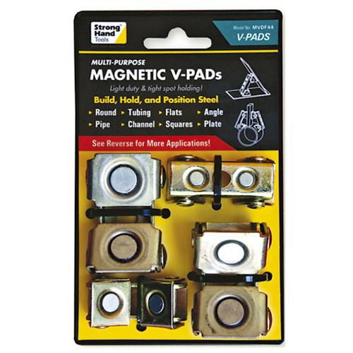 MAGNETIC V PADS 4 Pack STRONG HAND