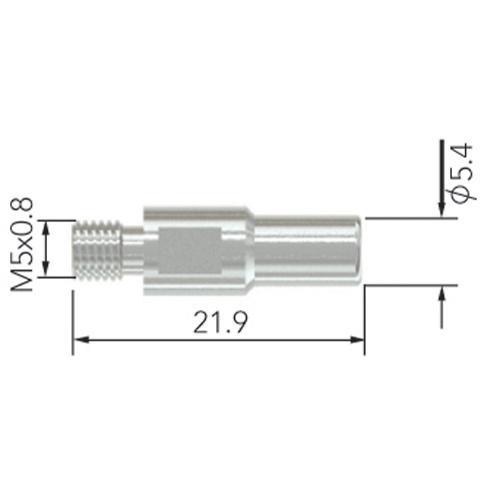 PLASMA ELECTRODE STANDARD S45 5pk