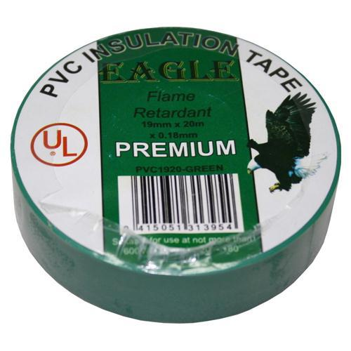 INSULATION TAPE 19mm GREEN EAGLE