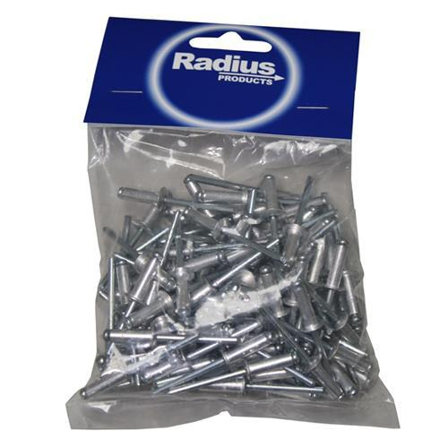3.2 x 7mm ALUMINIUM RIVET 100pk