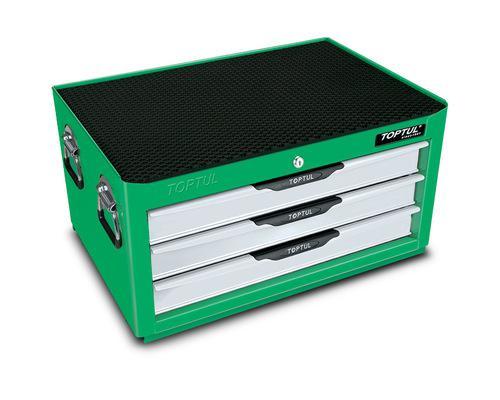 TOOL BOX INTER BOX 3 DRAWER GREEN TOPTUL