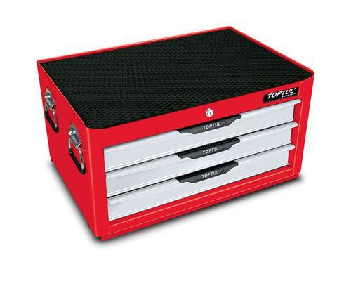 TOOL BOX INTER BOX 3 DRAWER RED TOPTUL
