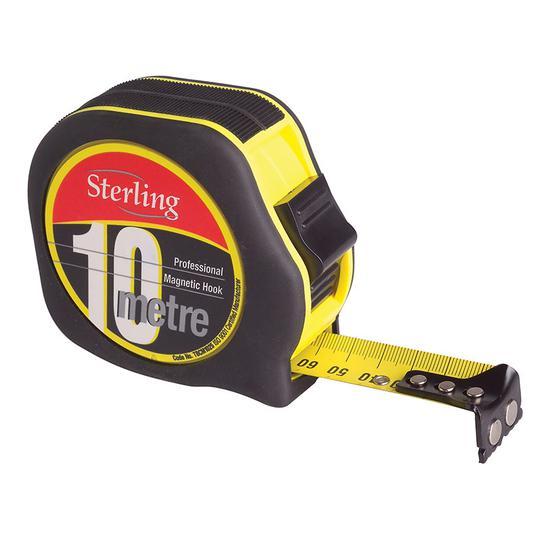TAPE 10M METRIC STERLING