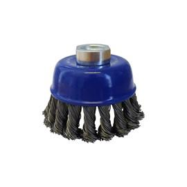 BRUSH CUP 75mm TWIST KNOT JOSCO