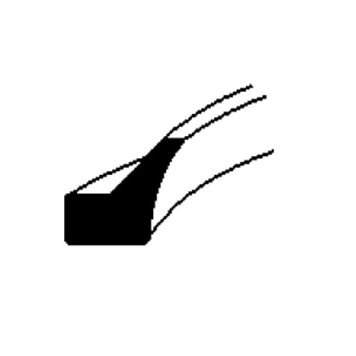 FLEXIBLE WIPER 1/2 x .9 x .135 WO