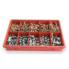 ASSORTMENT SCREW SELF DRILLING TRADE PK