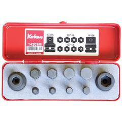 SOCKET SET INHEX IMPACT 1/2Dr 10pc KOKEN