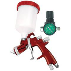 SPRAY GUN GRAVITY FEED HVLP AMPRO