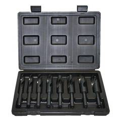 DRILL SET 1/2 SHANK 13-25mm 8pc HSS ALCO