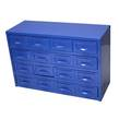 PARTS STORAGE CABINET 16 DRAWER KINCROME