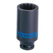 SOCKET DEEP IMPACT 1/2 x 14mm 12 Pt KING
