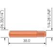 WELDING MIG TIP 1.0mm TWECO 2+4 5pk