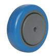 WHEEL 100mm BLUE RUBBER