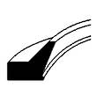 FLEXIBLE WIPER 55 x 65 x 2.2 PWHH