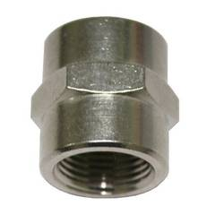 SOCKET 1/8 x 1/8 NICKLE PLATED