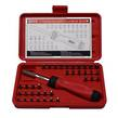 SCREWDRIVER RATCHETING & BIT SET 37pc