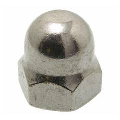 DOME NUT 1/4 UNF 304 STAINLESS STEEL